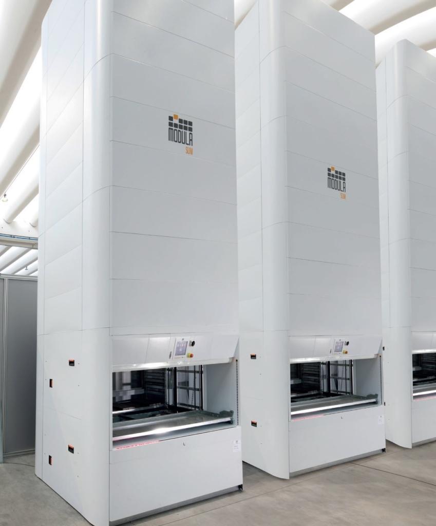 Modula automated storage lifts
